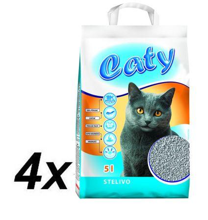 Akinu Caty Kovaföld macskaalom, 4 x 5l
