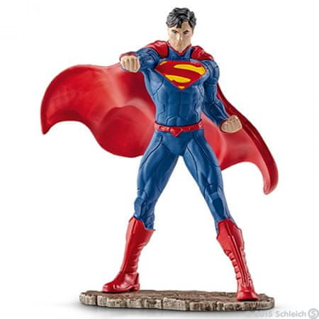Schleich Superman v boju
