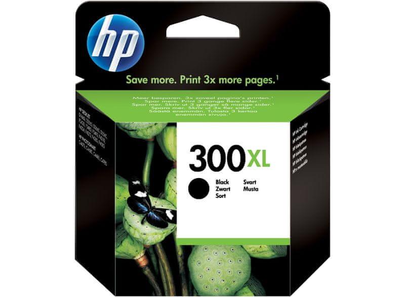 HP náplň č.300XL, černá (CC641EE)