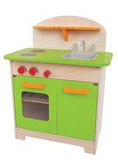Hape Kuchyňka velká - zelená