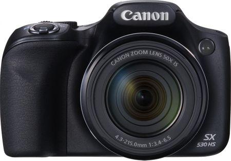 CANON PowerShot SX530 Digitális kompakt fényképezőgép, Fekete