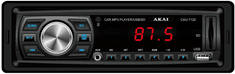 Akai CAU-7120 Autórádió (USB/AUX bemenet, SD Memóriakártya tárhely, Távirányító)