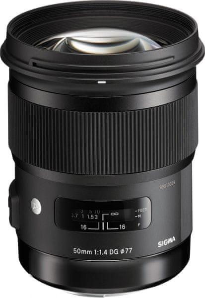 Sigma 50/1.4 DG HSM ART pro Canon (4 roky záruka)
