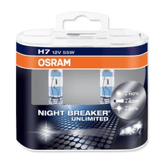 Osram par žarulja H7 - 55W - 12V Night Breaker Unlimited