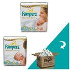 Pampers Premium Care Plienky Veľkosť 1 + Veľkosť 2 - 222 ks