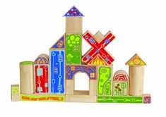 Hape Bambusová stavebnica - hrad