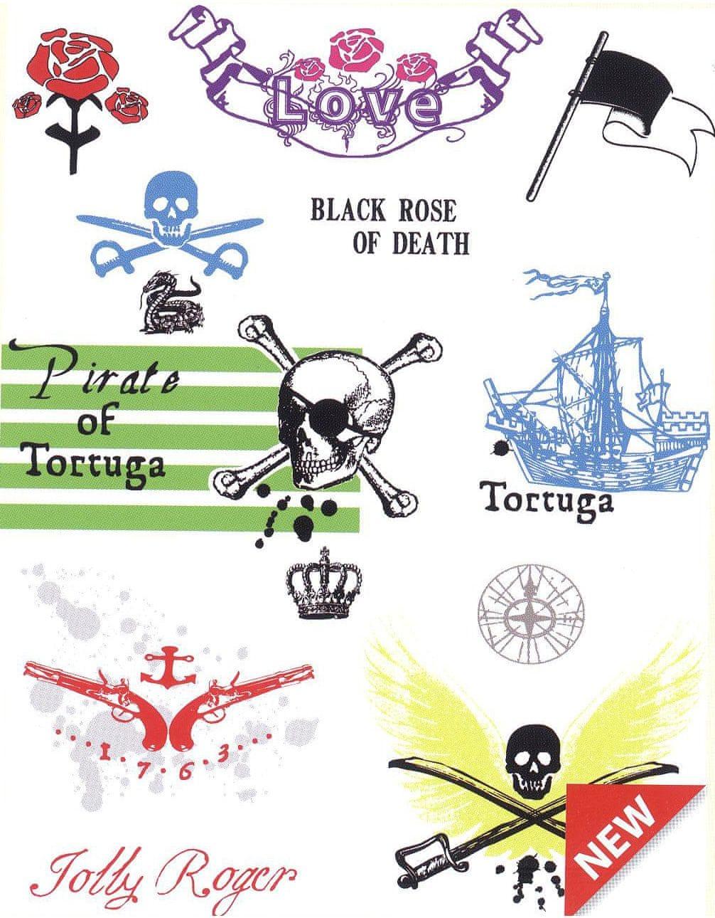Contrast Naklejki na ściane z motywem Piratów