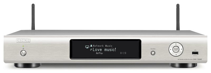 Denon DNP-730AE (Premium Silver)