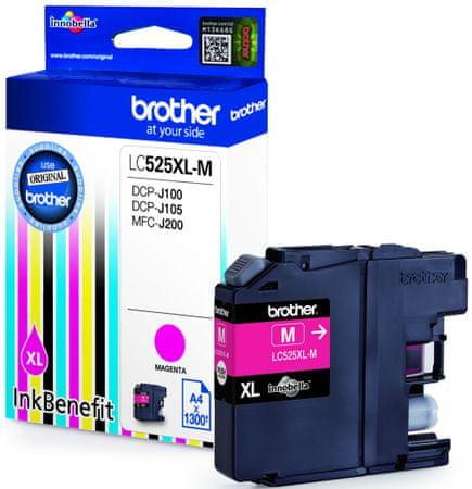 BROTHER LC-525XLM, purpurová