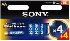 Sony AA 4+4ks Stamina Platinum (AM3PTM4X4D)