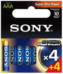 Sony AAA 4+4ks Stamina Platinum (AM4PTM4X4D)