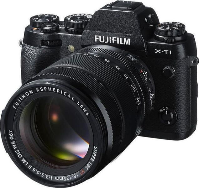 FujiFilm X-T1 + XF 18-135 mm Black