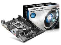 ASRock matična plošča H81M-DGS R2.0 LGA1150 mATX