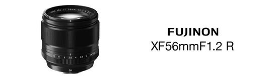 FujiFilm XF 56 mm f1.2 R objektiv