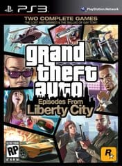 Rockstar Games Grand Theft Auto: Episodes from Liberty City (PS3)