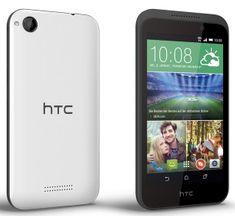 HTC Desire 320, bílá