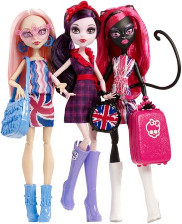 Monster High Celebrity tour