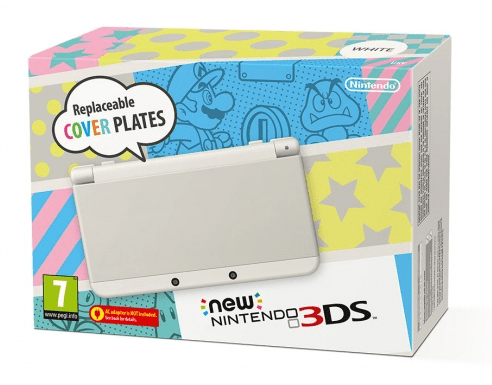 Nintendo 3DS White NEW