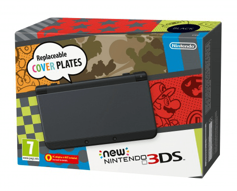 Nintendo 3DS Black NEW