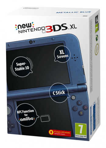 Nintendo NEW 3DS XL Metallic Blue