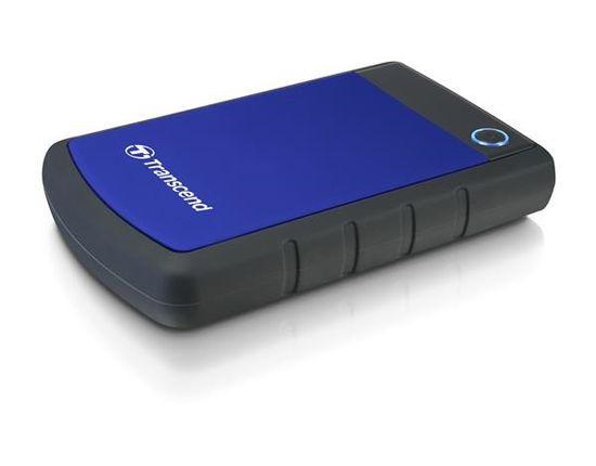 """Transcend StoreJet 25H3 1TB / Externí / USB 3.0 / 2,5"""" / Blue (TS1TSJ25H3B)"""