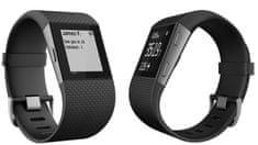 Fitbit merilnik aktivnosti Surge, velik, črn