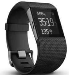 Fitbit Surge, malý, černý