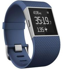 Fitbit opaska fitness Surge, niebieski