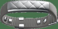 Jawbone UP3 náramek, stříbrný