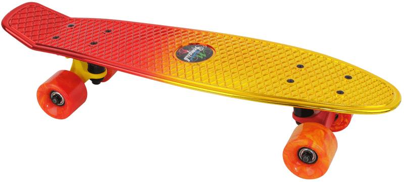 Tempish Buffy Star Skateboard yel/red