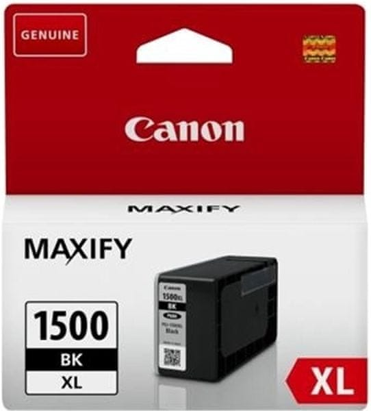 Canon PGI-1500XL BK (9182B001), černá