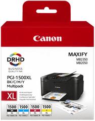 Canon PGI-1500XL C/M/Y/BK Multipack (9182B004), barevná