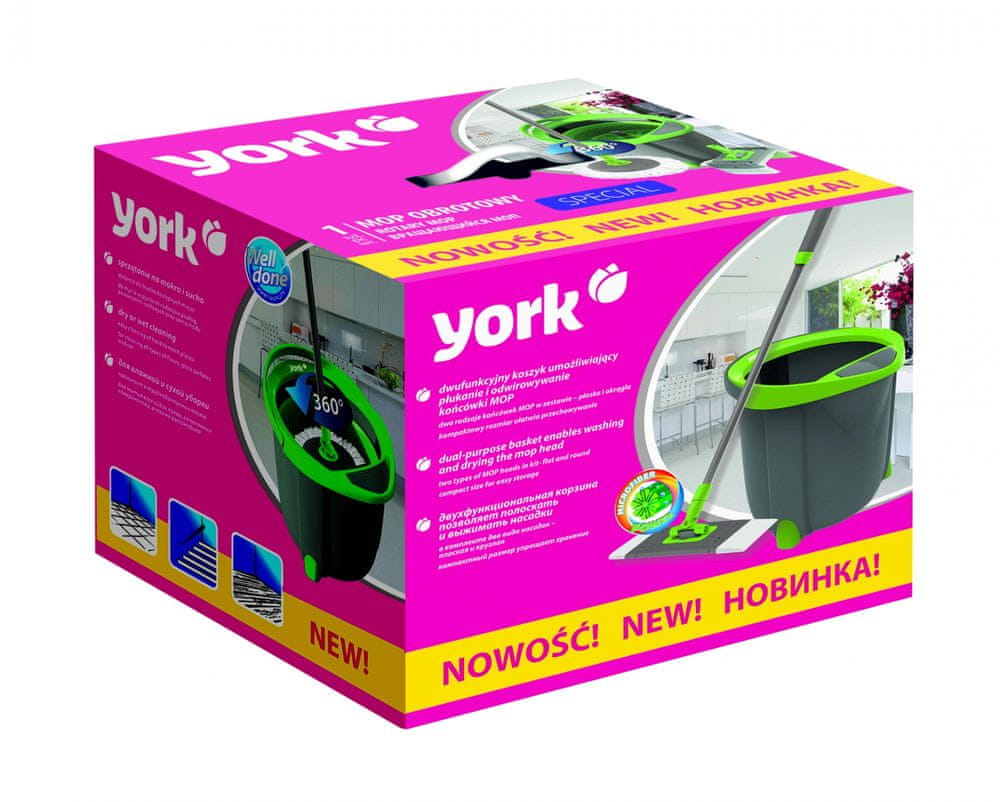 York Rotační mop set Special