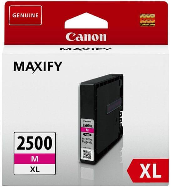 Canon PGI-2500XL M (9266B001), purpurová