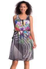 Desigual dámské šaty s bavlněnou podšívkou
