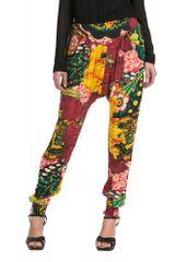 Desigual pestrobarevné dámské kalhoty
