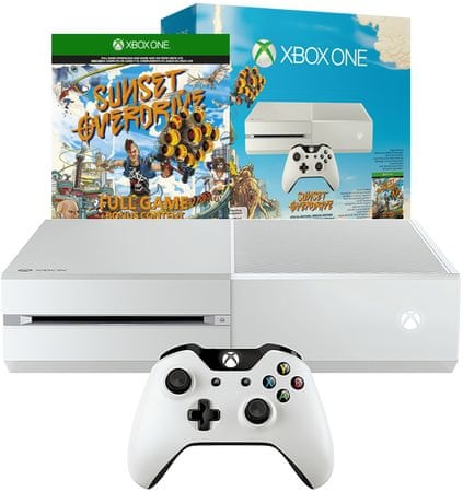 Microsoft XBOX One 500GB White + Sunset Overdrive - Parametry | MALL.CZ