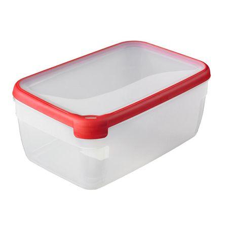Curver posoda za shranjevanje hrane Grand Chef, višja, 5,4 l, rdeča
