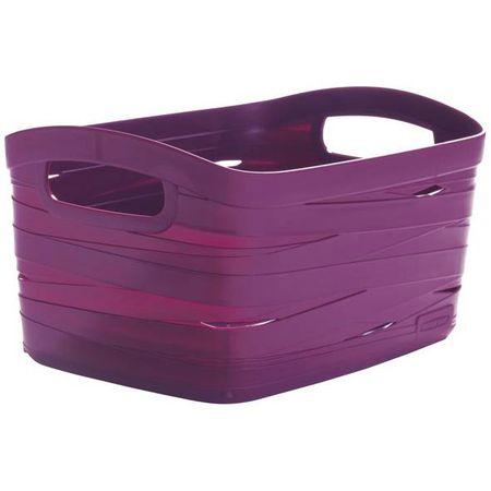 Curver košarica Ribbon, L, 20 l, vijolična