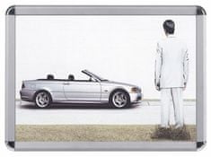 Piši-Briši zidni reklamni okvir ADA107, A1 klip