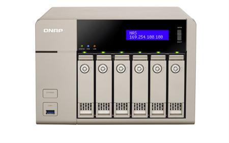 Qnap NAS strežnik za 6 diskov (TVS-663)