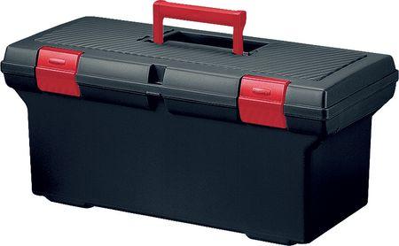 Curver kovček za orodje Basic L, črno/rdeč