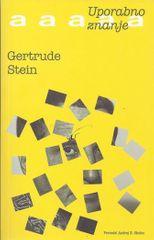 Gertrude Stein: Uporabno znanje