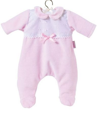 Corolle pižama z ovratnikom, roza, 30 cm