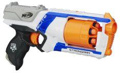 NERF ELITE s pumpujúcou rukoväťou pre rýchlu streľbu