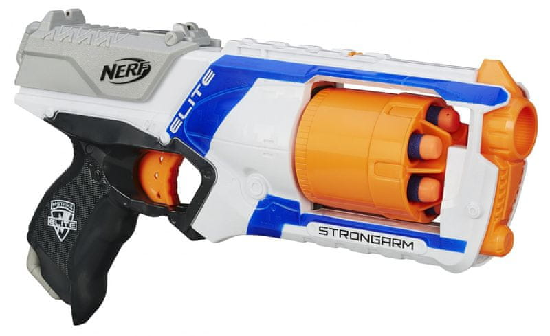 Nerf ELITE pistole s bubnovým zásobníkem Strongarm