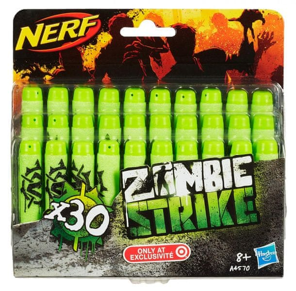 Nerf ZOMBIE Strike náhradní šipky