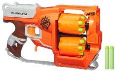 NERF Zombie Strike Flipfury Szivacslövő Játékfegyver