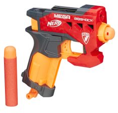 NERF MEGA najmenšia pištoľ