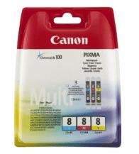 Canon komplet kartuš (CLI-8 C/M/Y)